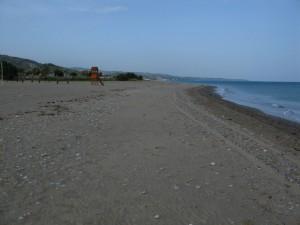 The Beach at Camping di Mario