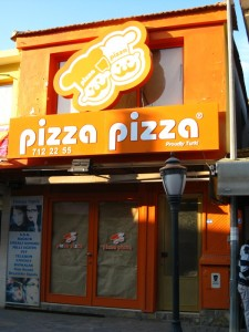 Who knew that Pizza Pizza was a Turkish company?