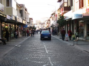 The main street in Cesme