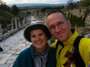Becky and Scott at Ephesus