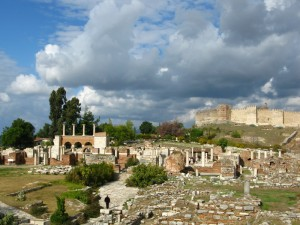Ruins of St. John\'s Basilica in Selcuk