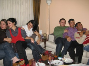 Friends at Gul\'s party