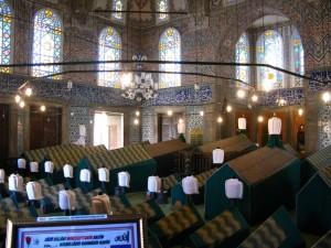 The tomb of Sultan Ahmet