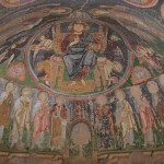 The fresco in the cave church.