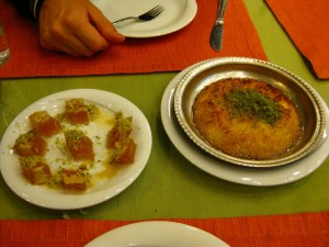 Cabbage and Kufeke desserts