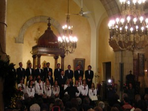 Christmas concert at Saint Michelle Church